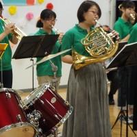 オープニングセレモニーでは吹奏楽部の素敵な演奏がありました