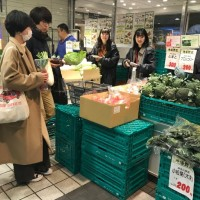 京急百貨店コンコースにて 販売促進活動