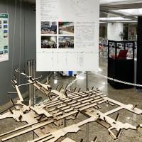池袋駅:駅模型と説明パネル